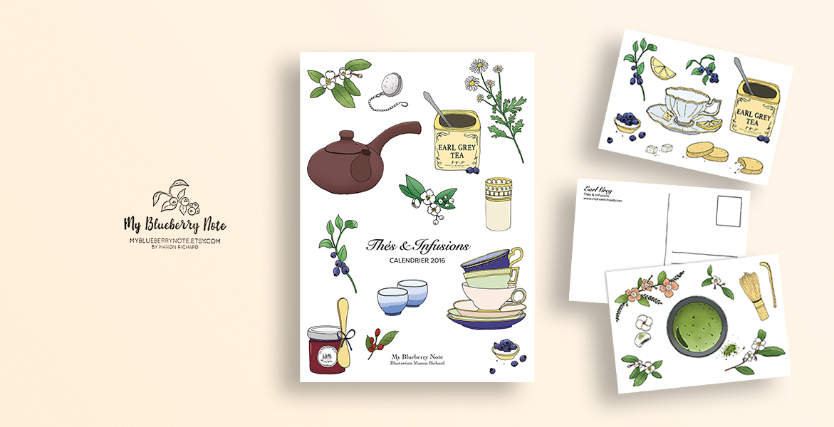 Calendrier Thés et infusions 2016 img1