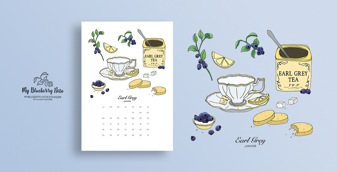 Calendrier Thés et infusions 2016 img2
