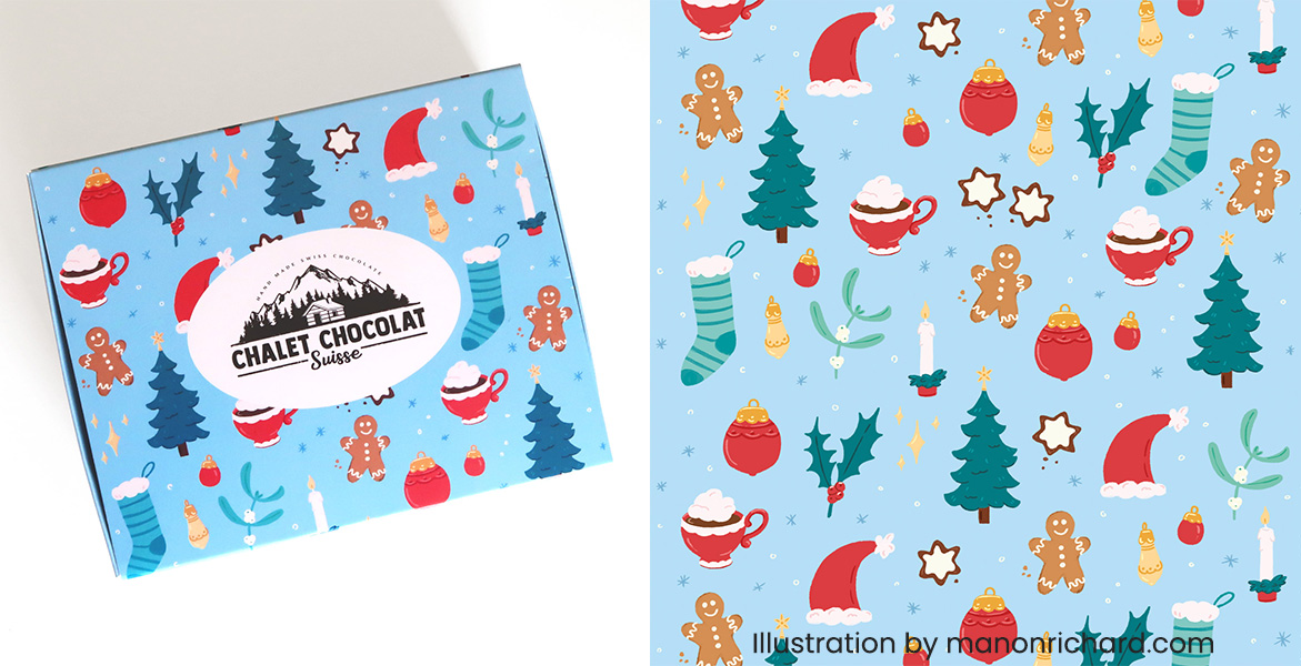Chalet Chocolat packaging 5
