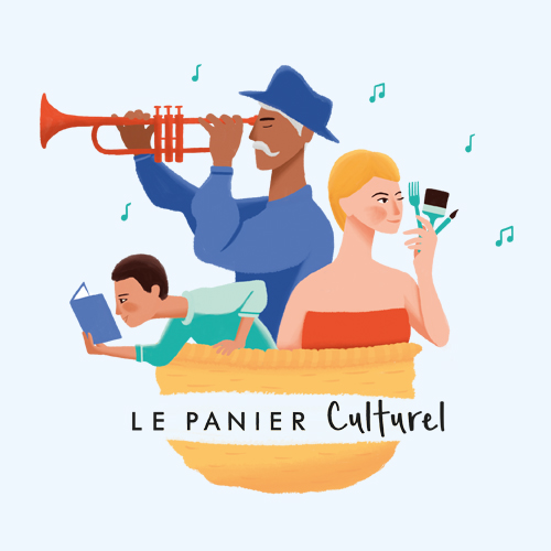 Le Panier Culturel logo illustration