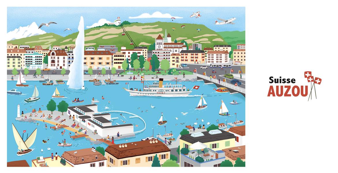 Mon Puzzle Suisse Genève 2