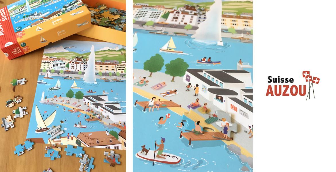 Mon Puzzle Suisse Genève 3